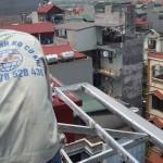 Làm mái tôn chống nóng tại Trung Kính, Phạm Văn Đồng