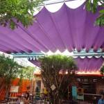 Mái bạt xếp quán cà phê giá tốt nhất tại Hà Nội