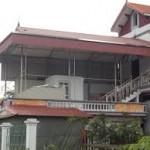 Làm mái tôn trên sân thượng giá rẻ tại Hà Nội