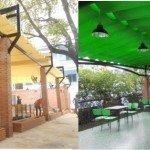 Làm mái bạt xếp di động tốt nhất tại Nam Định