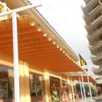 Chuyên cung cấp mái bạt xếp di động tại Hải Phòng