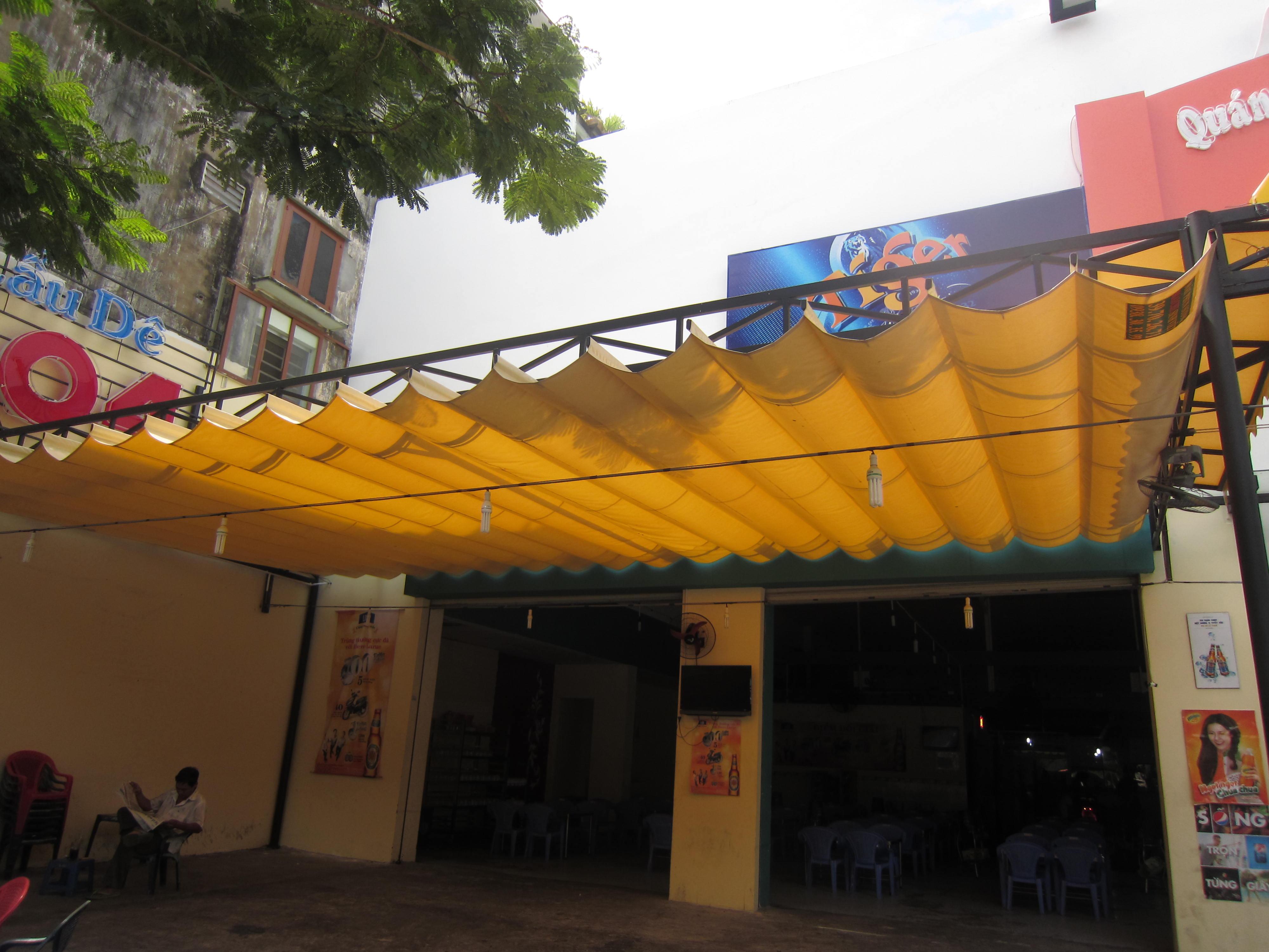 Mái xếp di động tại Hà Giang