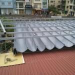 Cách giữ độ bền của mái bạt xếp di động