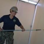 Lính thủy Hoa Kỳ sửa trường mẫu giáo ở Khánh Hòa