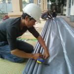 Thợ làm mái xếp di động tại Hà Nội
