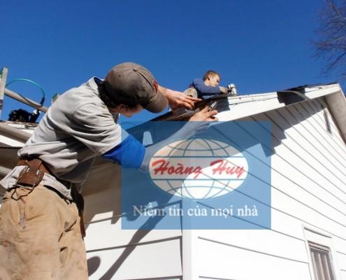 Thi công mái tôn tại Hà Nội