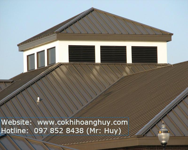 Ngôi nhà sau khi làm mái tôn lạnh