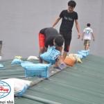 Bảo vệ nhà làm mái tôn mùa mưa bão